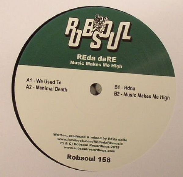 Reda Dare - Music Makes Me High