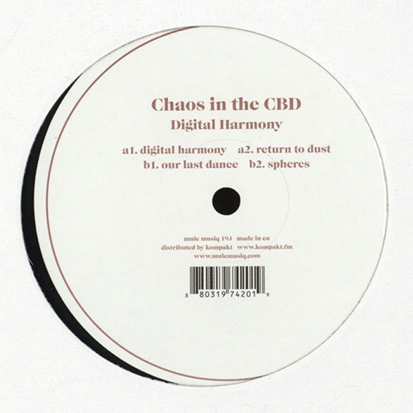 Chaos In The Cbd - Digital Harmony