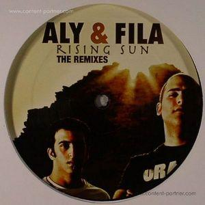 aly & fila - risung sun remixes 2 (repressed)
