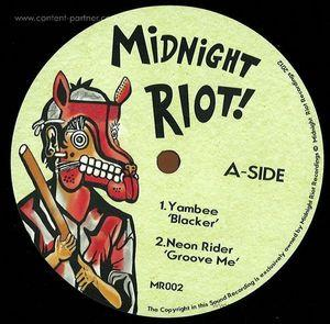 YAMBEE (ASHLEY BEEDLE & YAMWHO?) - MIDNIGHT RIOT VOLUME 2 VINYL SAMPLER