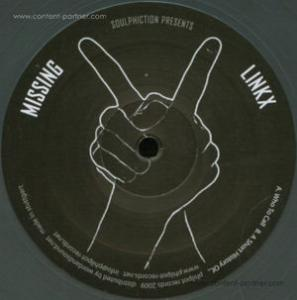 Soulphiction Pres. Missing Linkx - Who To Call Black Vinyl Repress Edition
