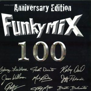 Funkymix - Volume 100 - 4LP - Lim. Coloured Vinyl