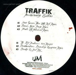 Traffik - Incriminating Evidence Remixes (12''+CD)