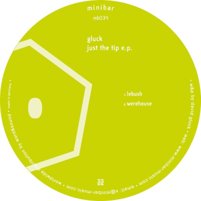 Gluck - Just The Tip Ep, Cabanne Remix