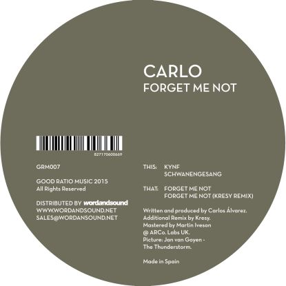 Carlo - Forget Me Not